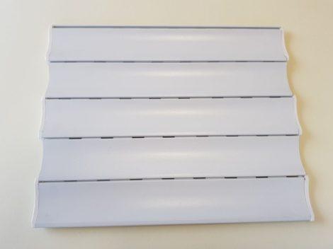 Alumínium redőnyléc 39-es fehér