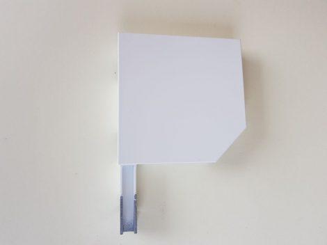 Alumínium tokvég 13,7-es fehér