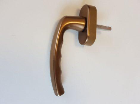 Hoppe secustic ablakkilincs bronz