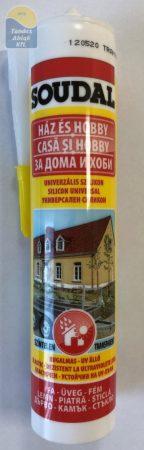 Soudal szilikon univerzális ecetsavas transparent 280 ml