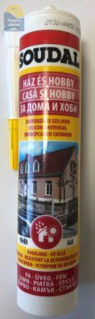 Soudal szilikon univerzális ecetsavas fehér 280 ml