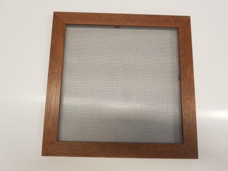 Alumínium peremes szúnyogháló keret, aranytölgy