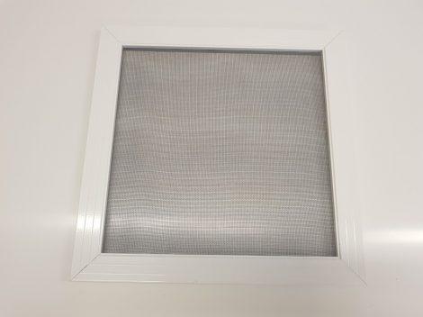 Alumínium peremes szúnyogháló keret, fehér